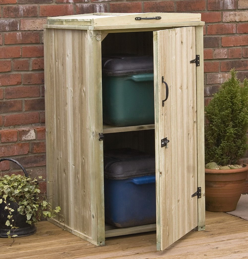 Patio Storage Cabinet With Shelves