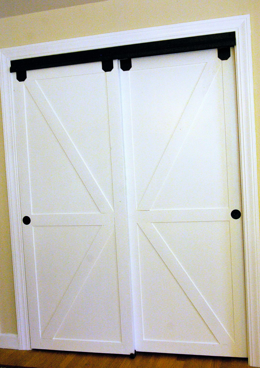 Replacing Bifold Closet Doors With Barn Doors