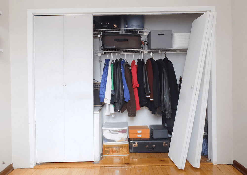 Replacing Bifold Closet Doors With Regular Doors