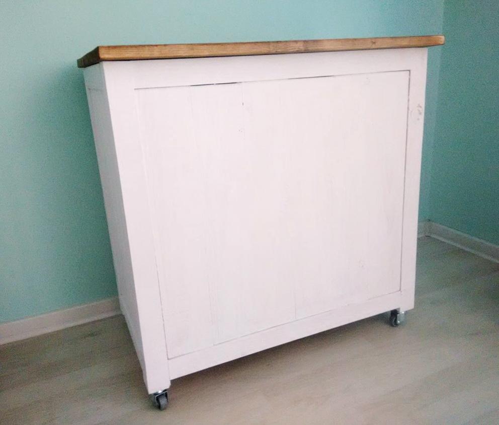 Rolling Storage Cabinet Diy