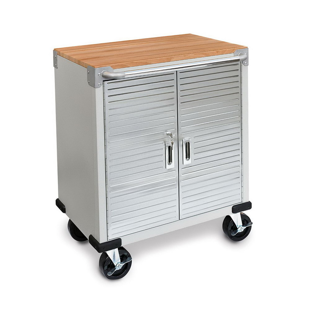 Rolling Storage Cabinet With Lock