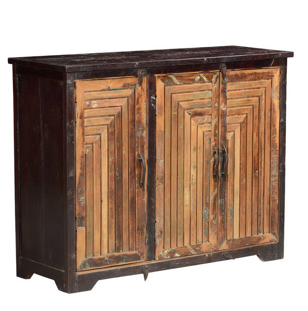 Rustic Storage Cabinet With Doors