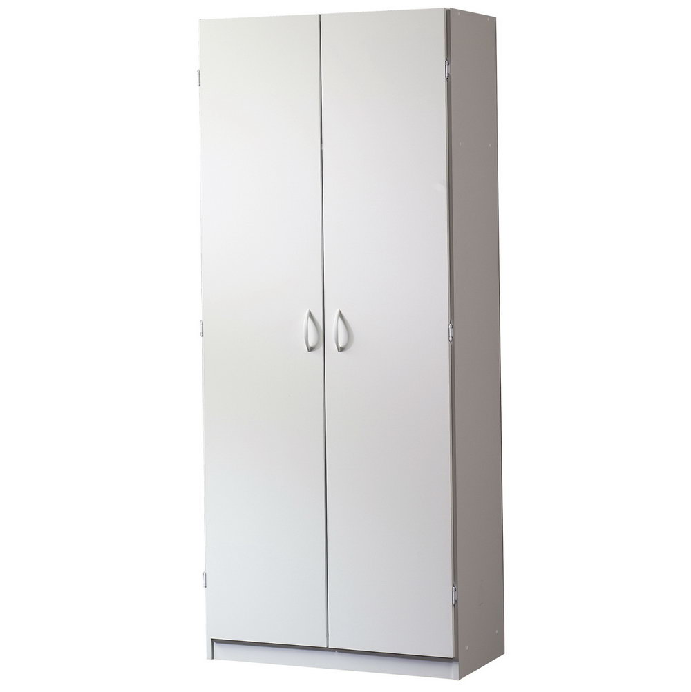 Sauder Storage Cabinet Soft White Finish