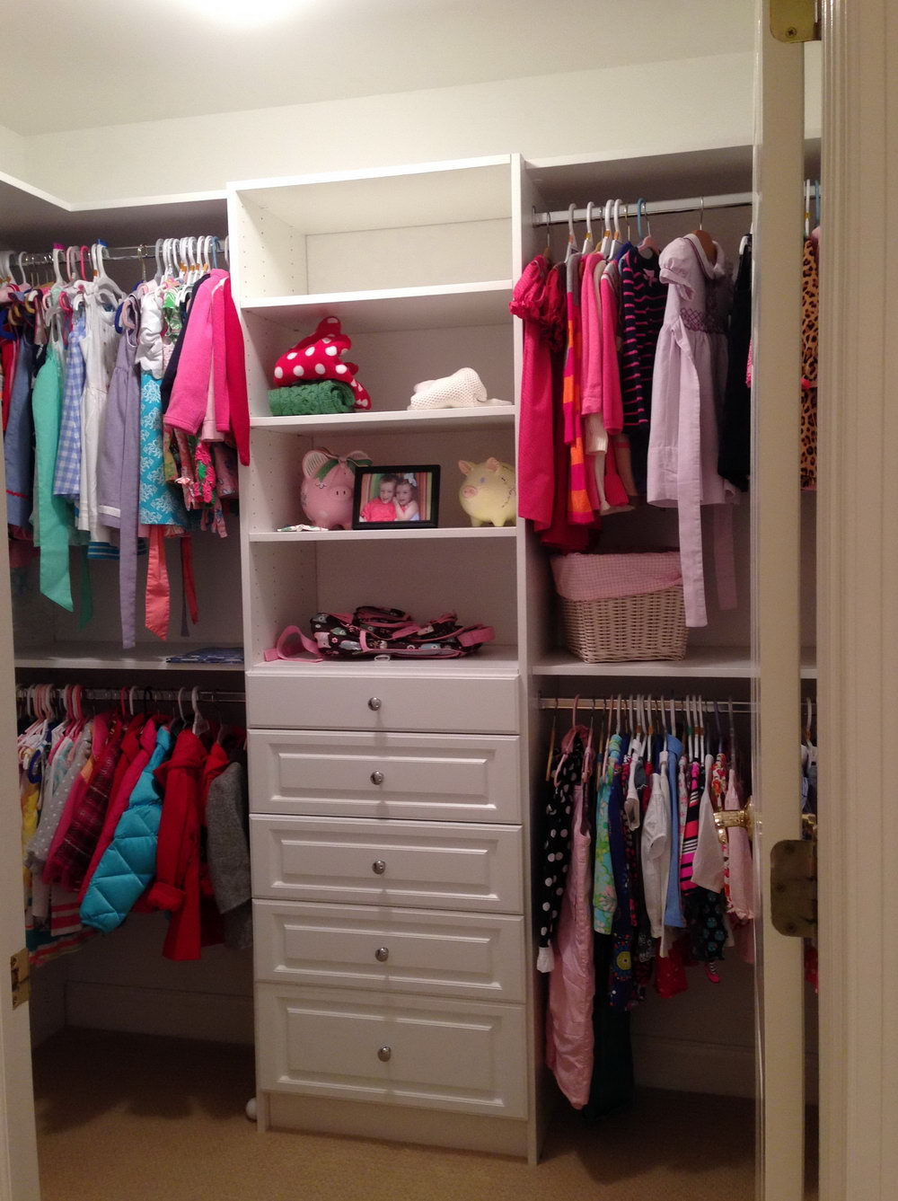 Simple Closet Door Ideas
