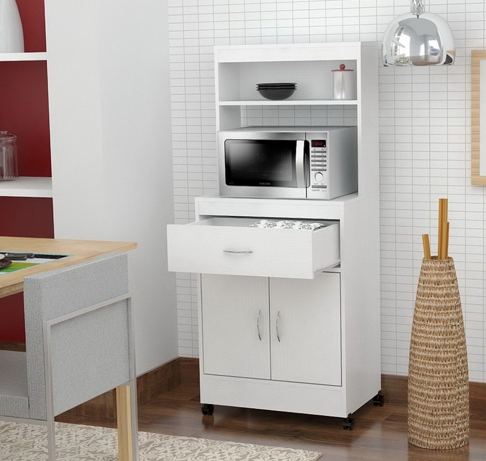 Small Appliance Storage Cabinet