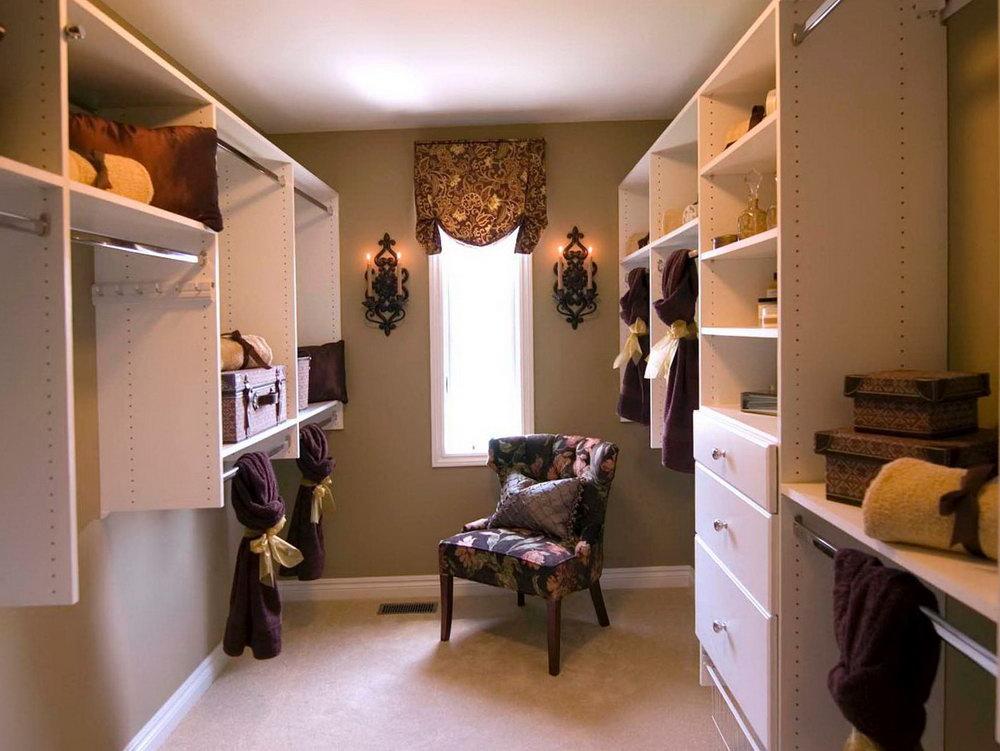 Small Bedroom Design With Walk In Closet