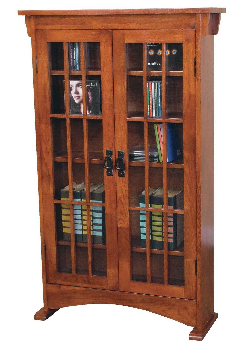 Small Media Storage Cabinet