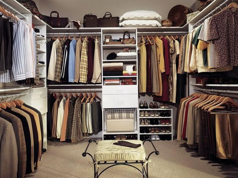 Standard Size Of A Closet In A Bedroom