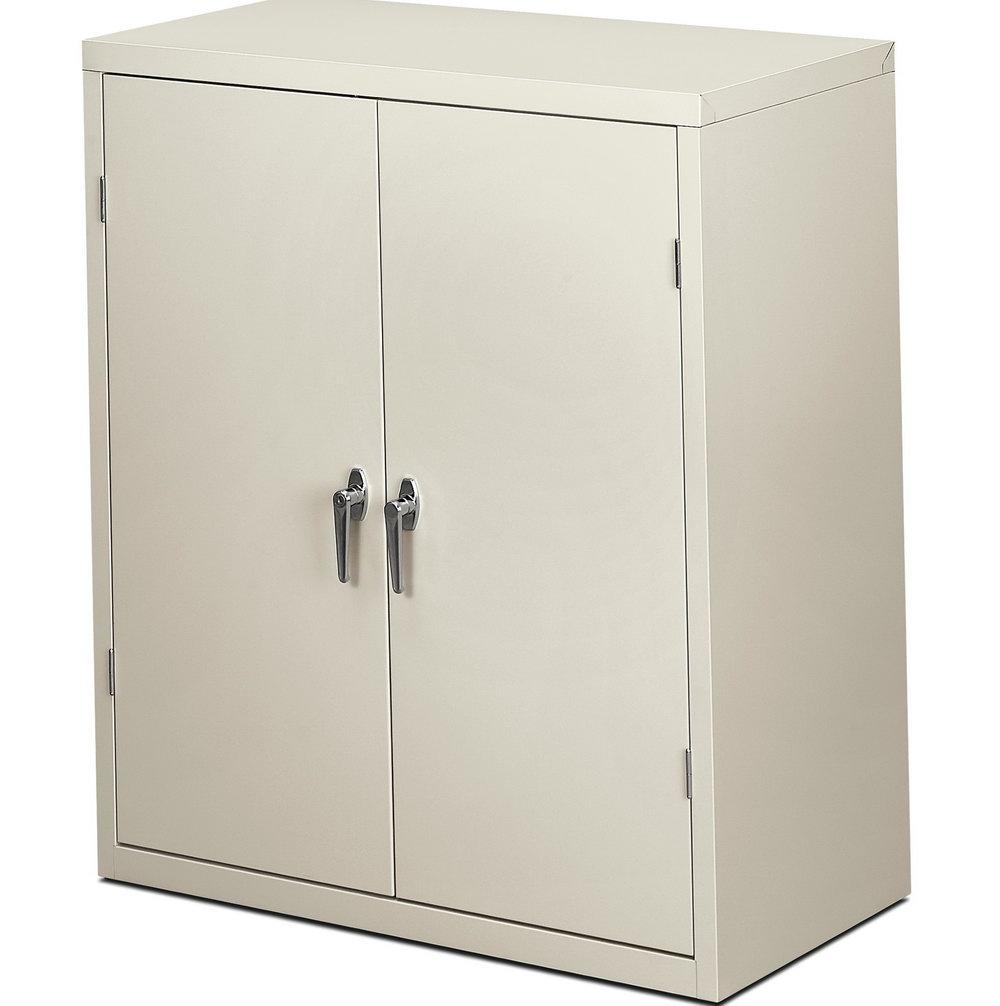 Storage Cabinet With Locking Doors
