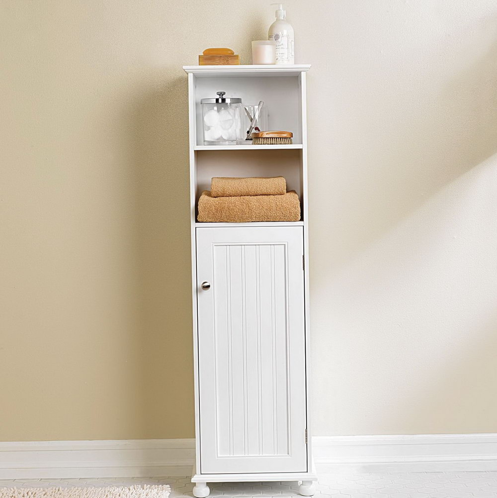 Tall Storage Cabinet Bathroom