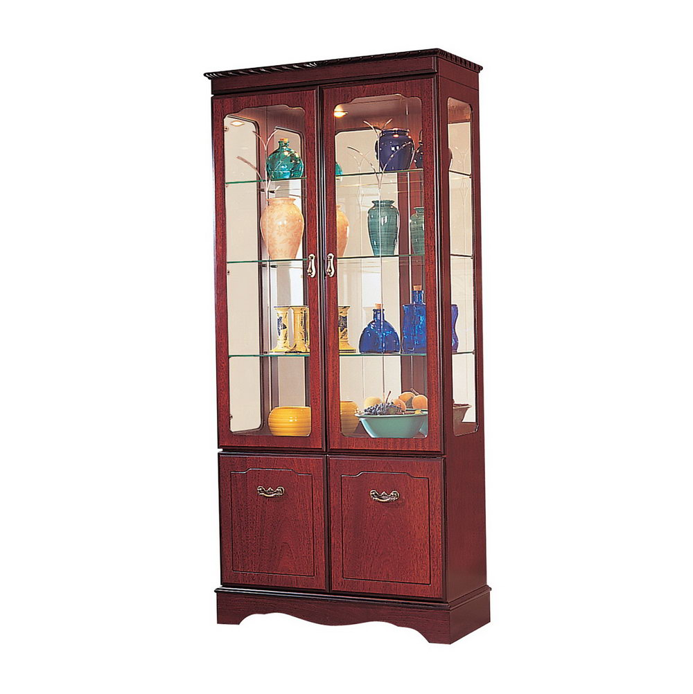 Tall Storage Cabinets With Glass Doors