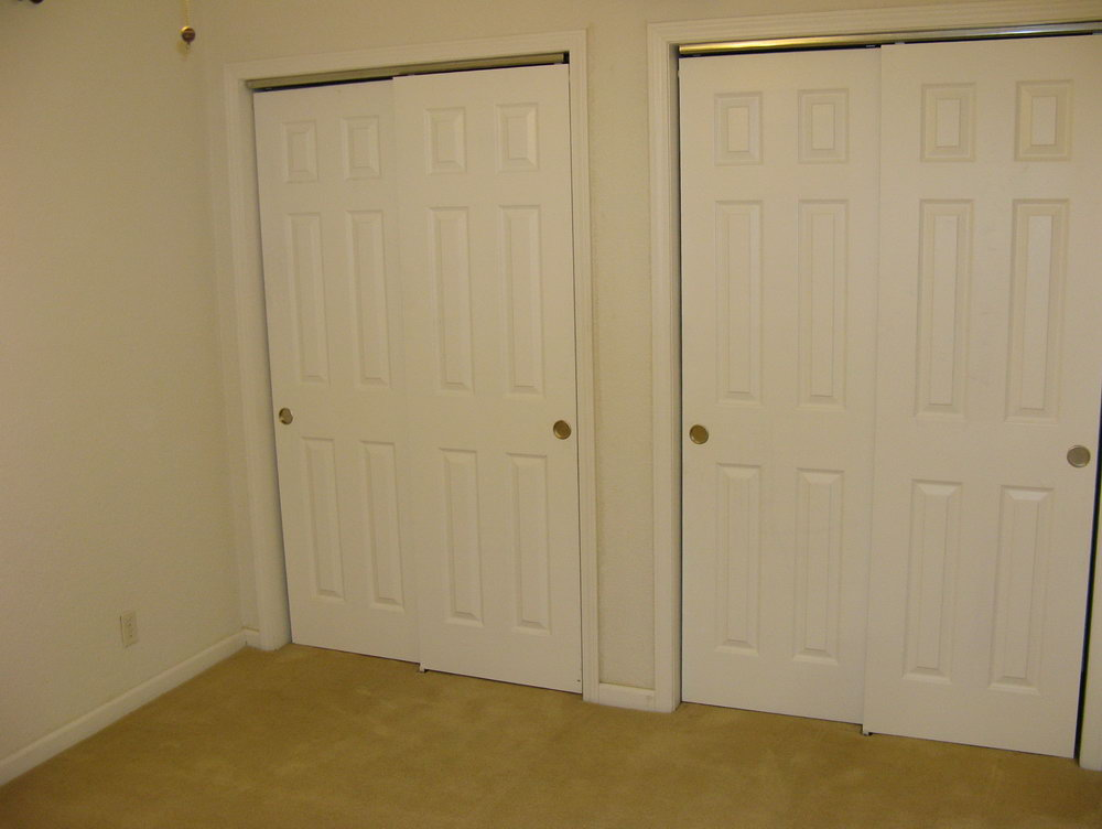 Trim Around Sliding Closet Door