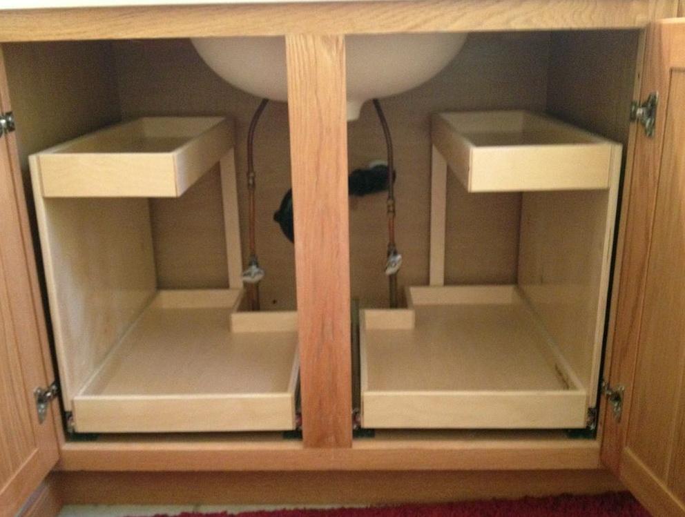Under Bathroom Cabinet Storage