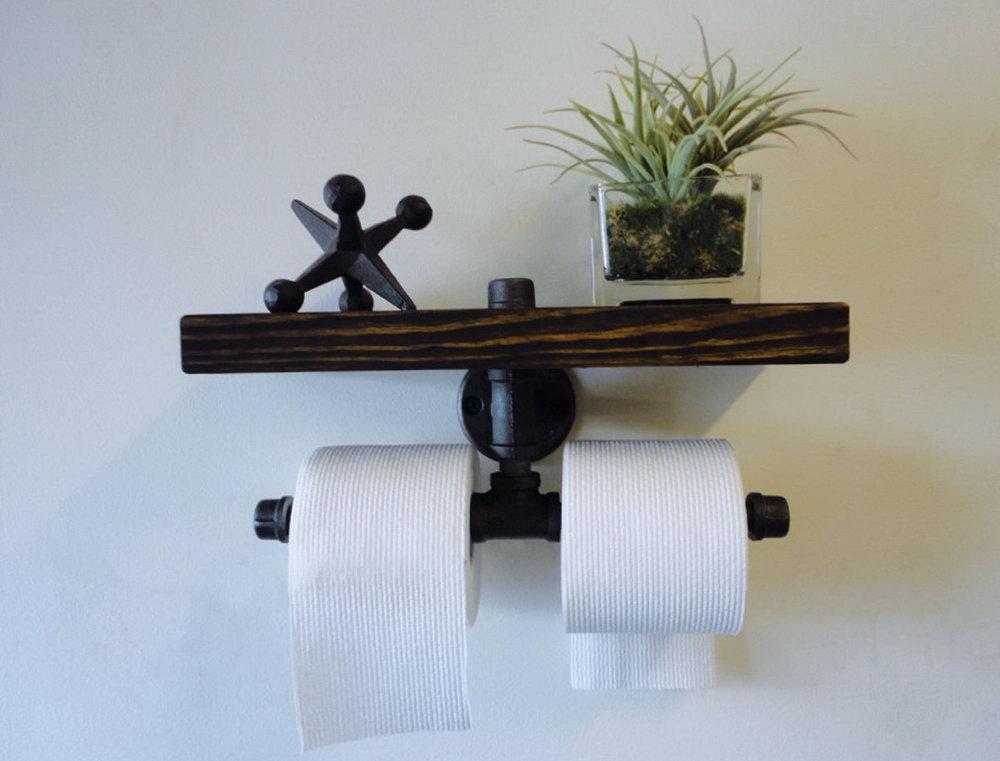 Under Cabinet Toilet Paper Storage