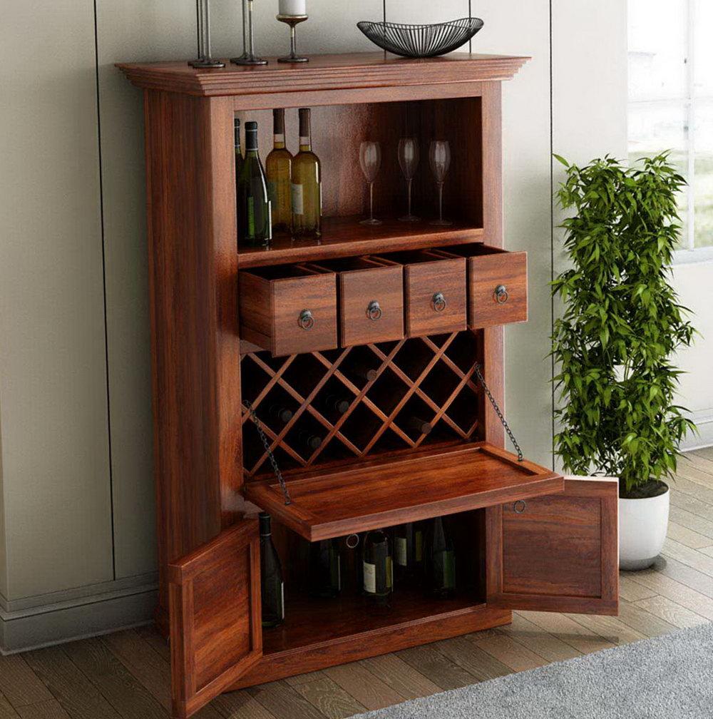 Under Cabinet Wine Storage