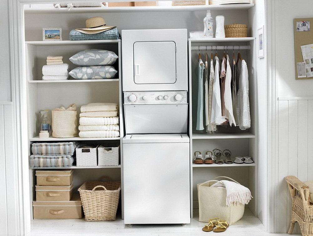 Utility Closet Storage Ideas