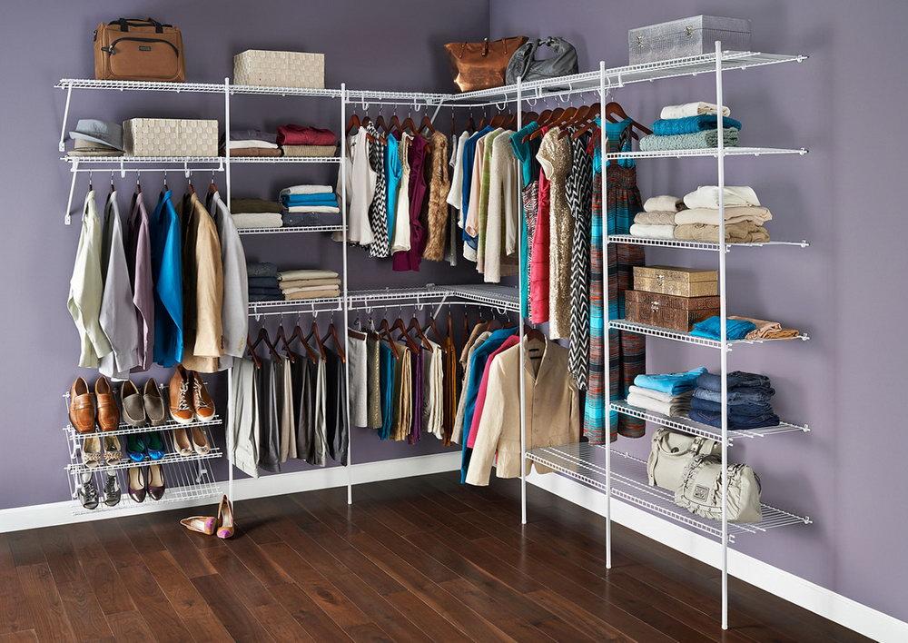 Walk In Closet Wire Shelving Ideas