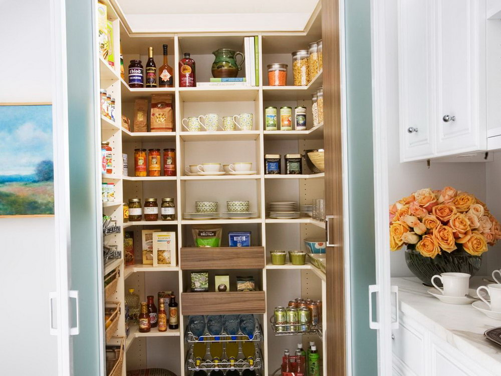 Wall Pantry Storage Cabinets