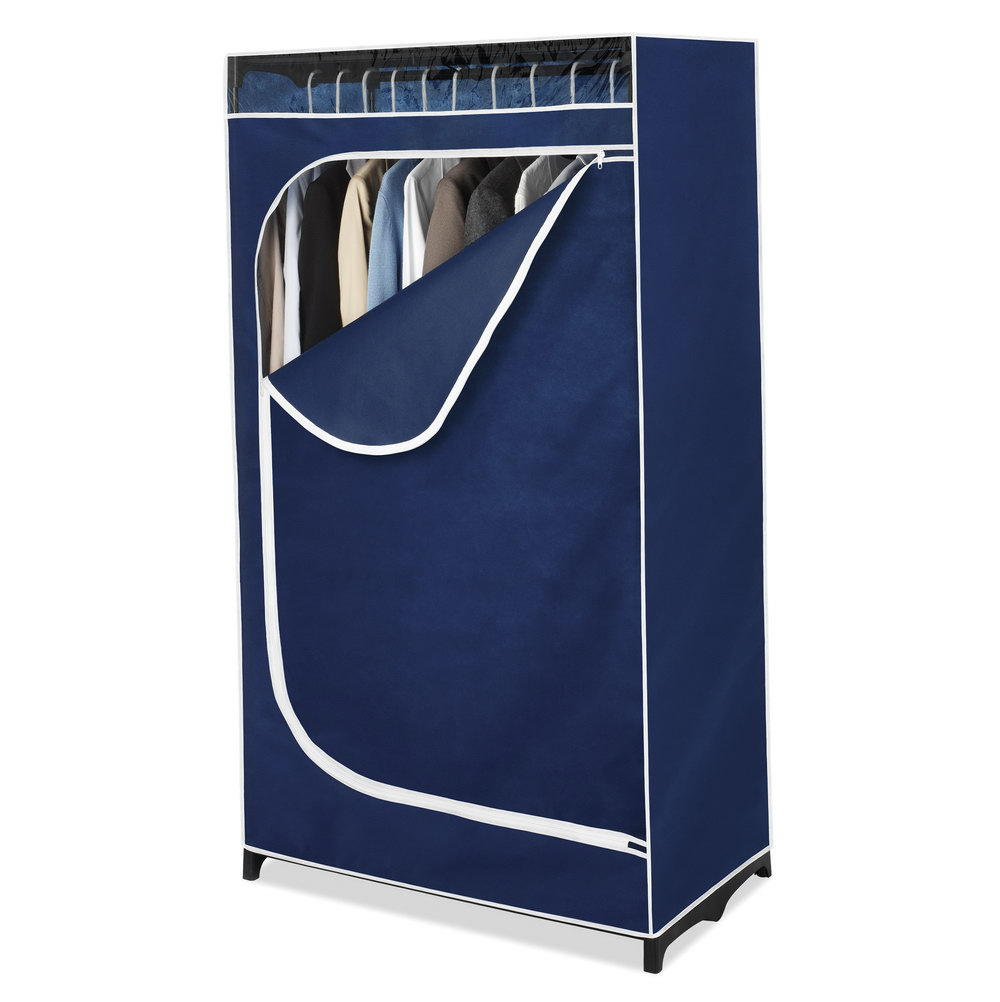 Whitmor Clothes Closet 36 With Blue Cover