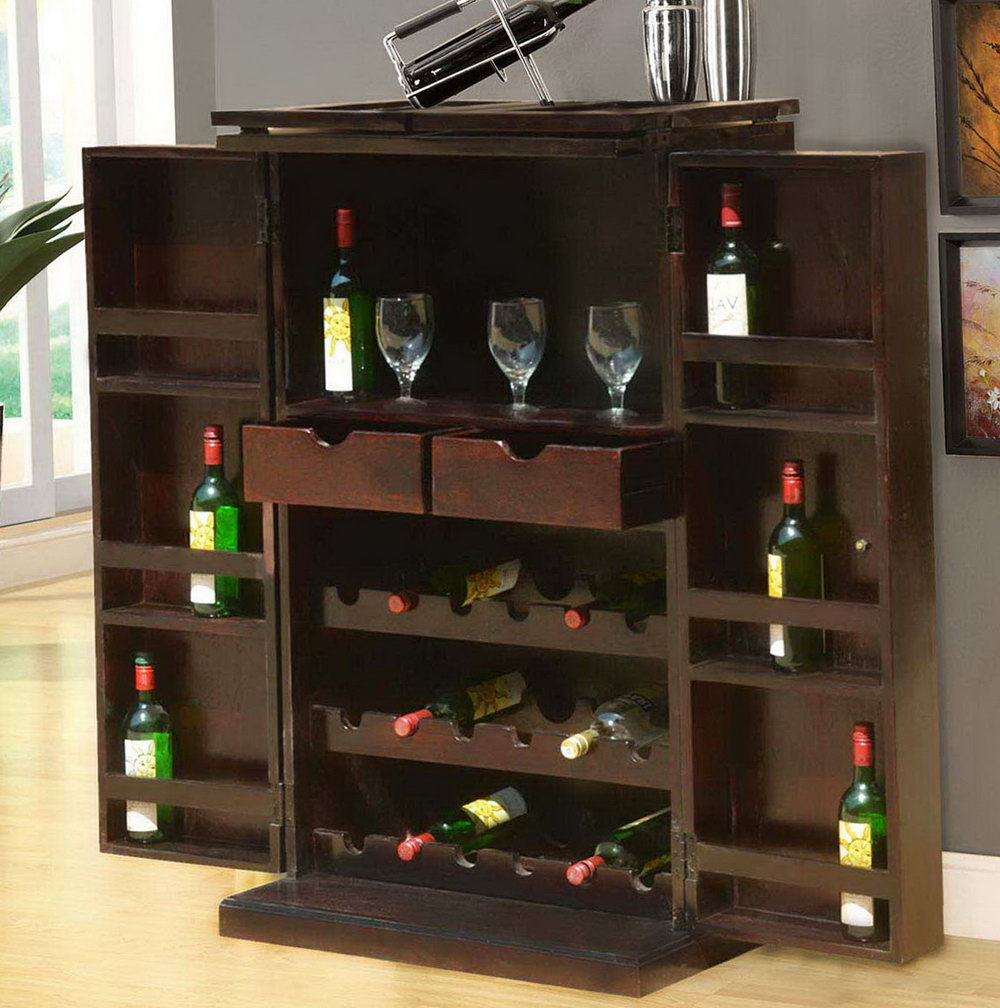 Wine Storage Cabinet Ideas