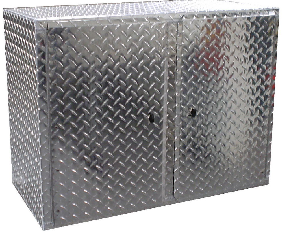 Aluminum Storage Cabinets For Trailers
