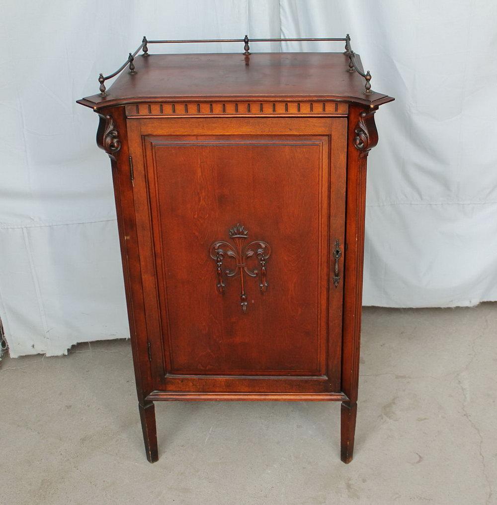 Antique Sheet Music Storage Cabinet