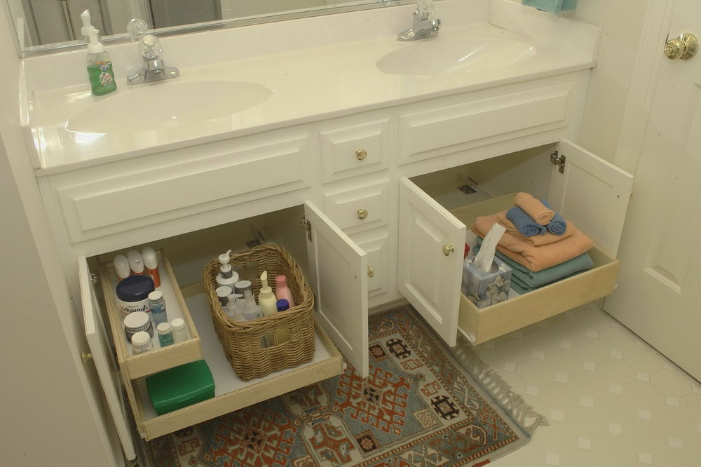 Bathroom Under Cabinet Storage Solutions