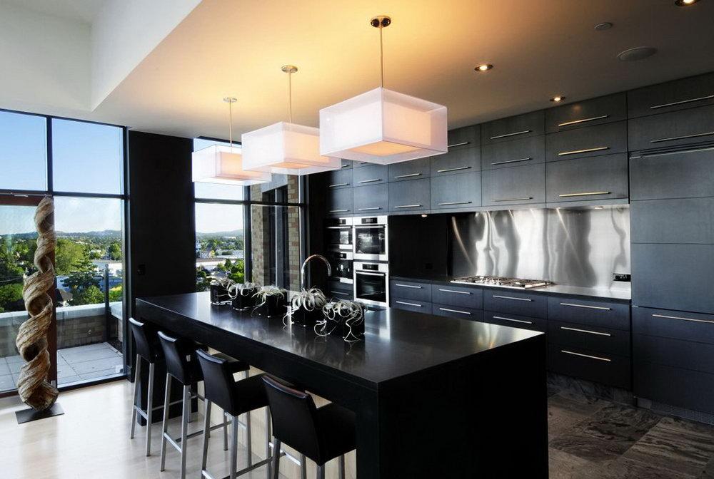 Black Kitchen Cabinets Home Depot