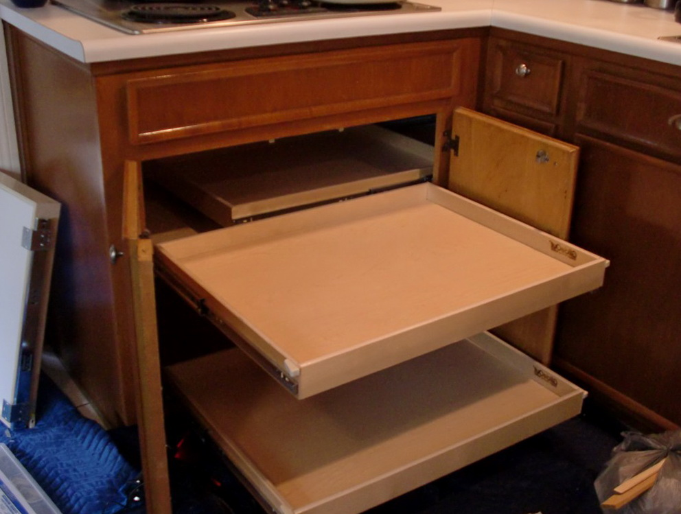 Blind Corner Cabinet Storage Solutions