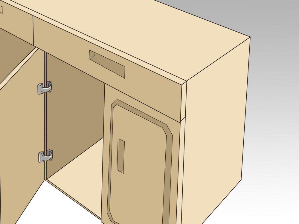 Building Kitchen Base Cabinets