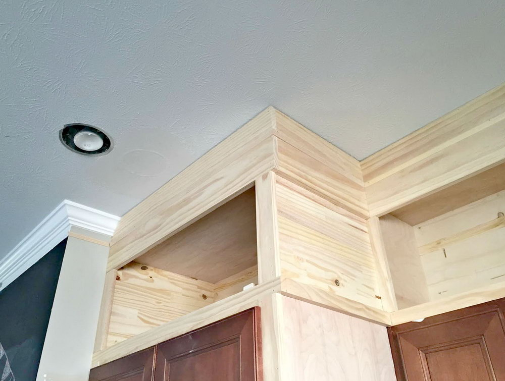 Building Kitchen Cabinets To The Ceiling