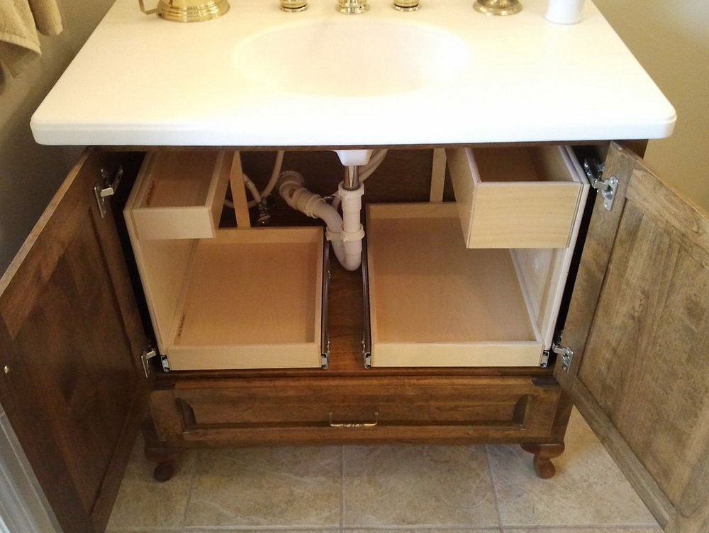 Cabinet Storage Ideas Bathroom