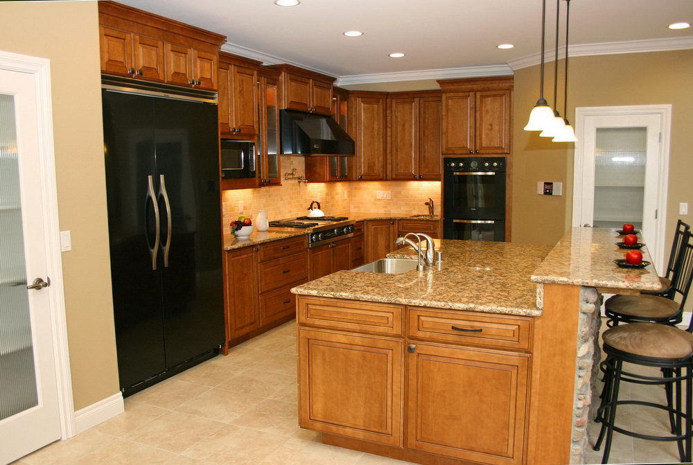 Cherry Kitchen Cabinets Photo Gallery