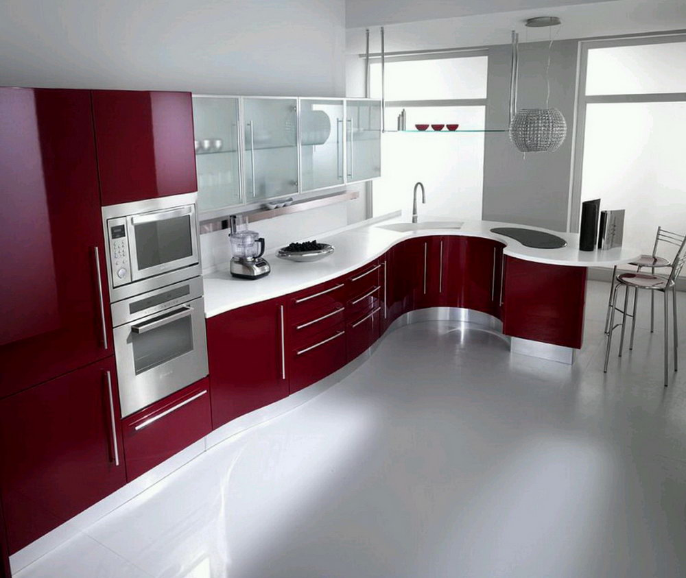 Contemporary Kitchen Cabinets Colors