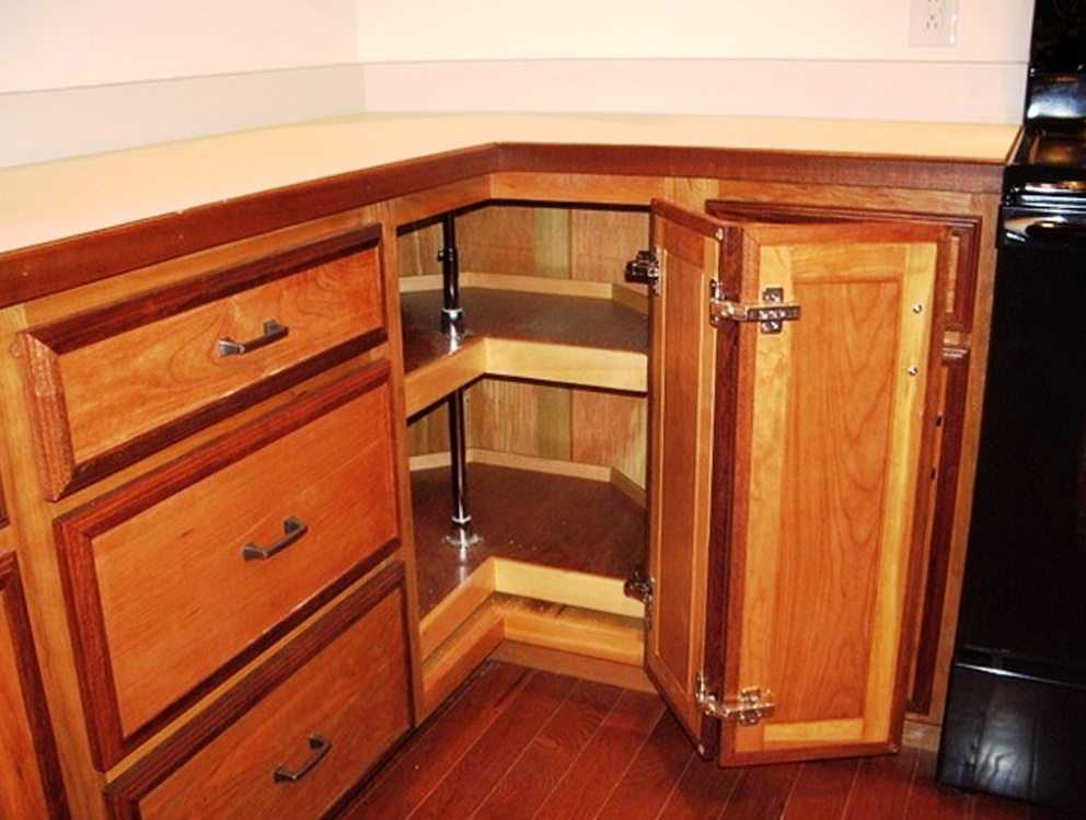 Corner Kitchen Cabinet Dimensions