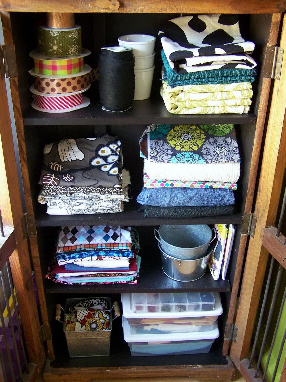 Craft Room Storage Cabinet