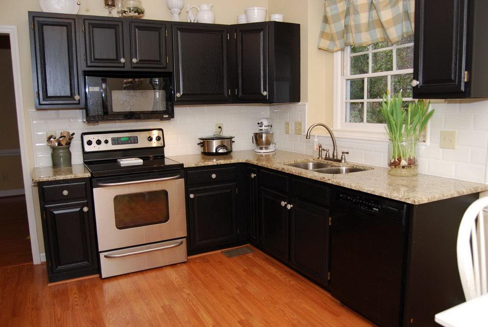 Dark Kitchen Cabinet Paint Colors
