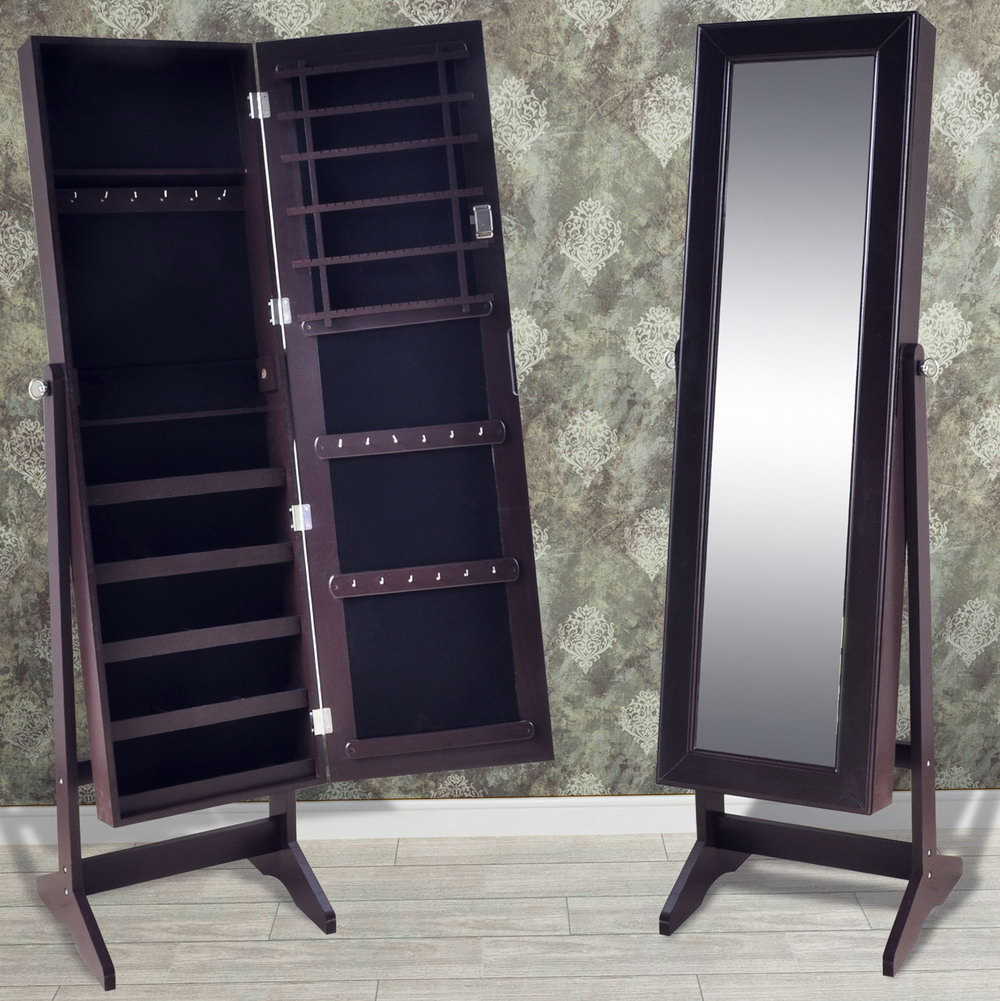 Full Length Mirror Cabinet Storage