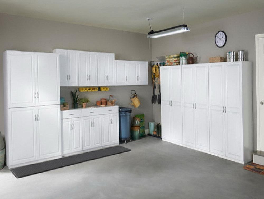 Garage Storage Cabinet With Doors