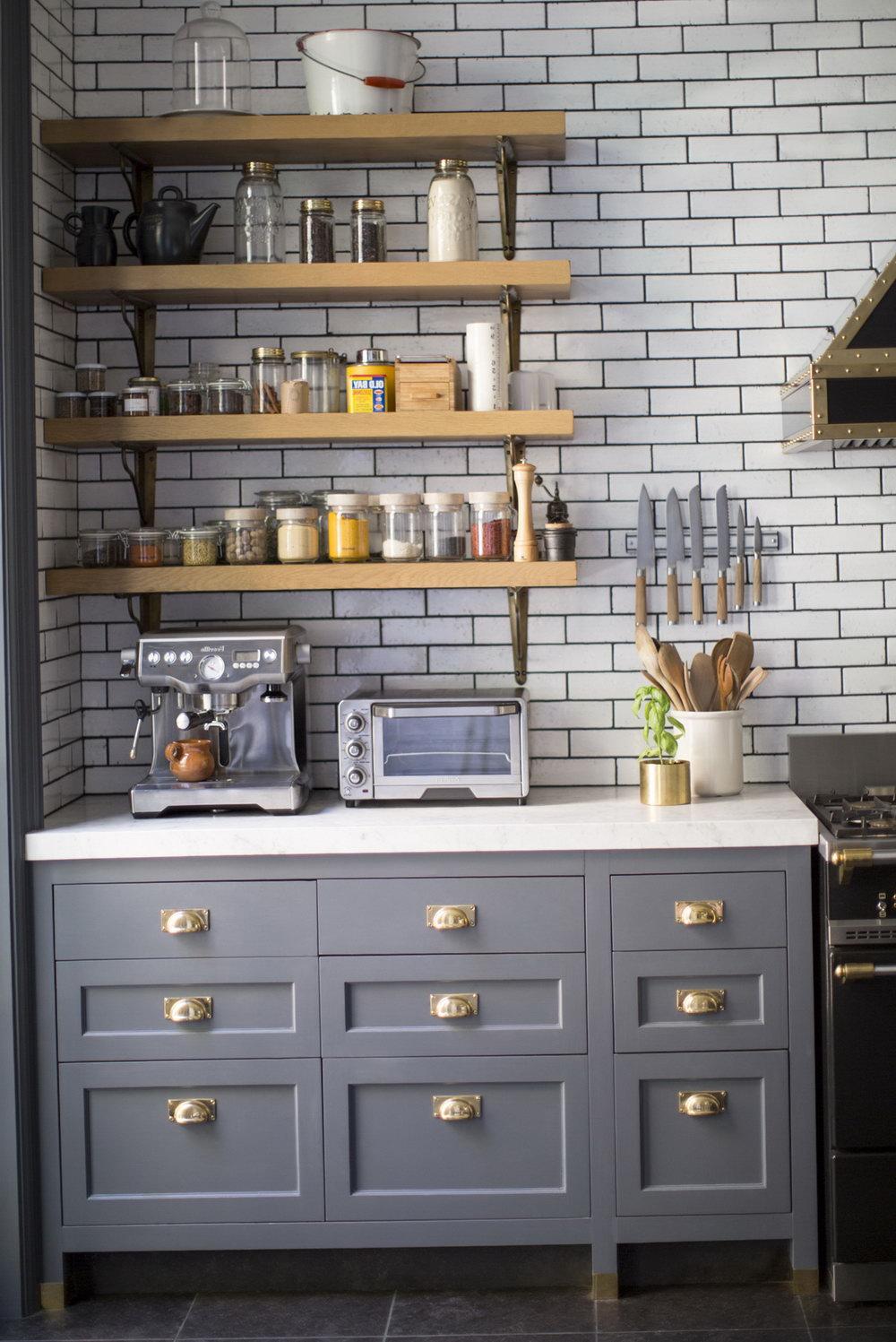 Gray Kitchen Cabinets Benjamin Moore