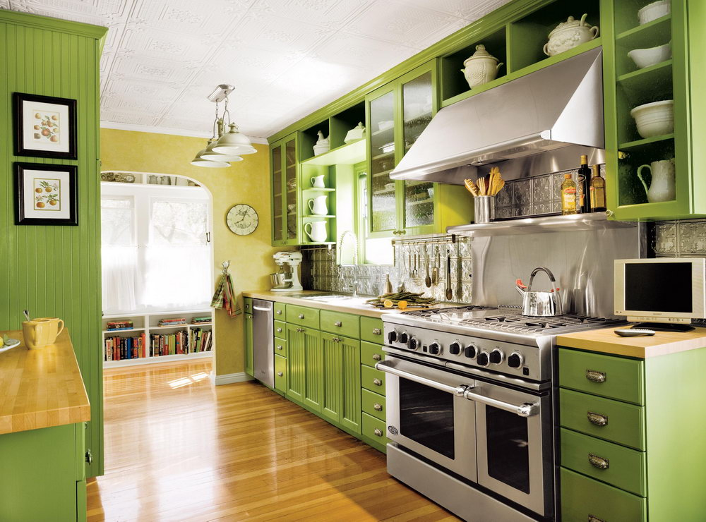 Green Kitchen Cabinets Ikea