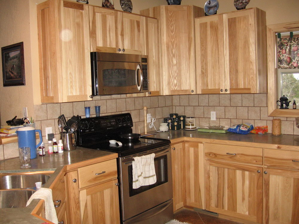 Hickory Kitchen Cabinets For Sale