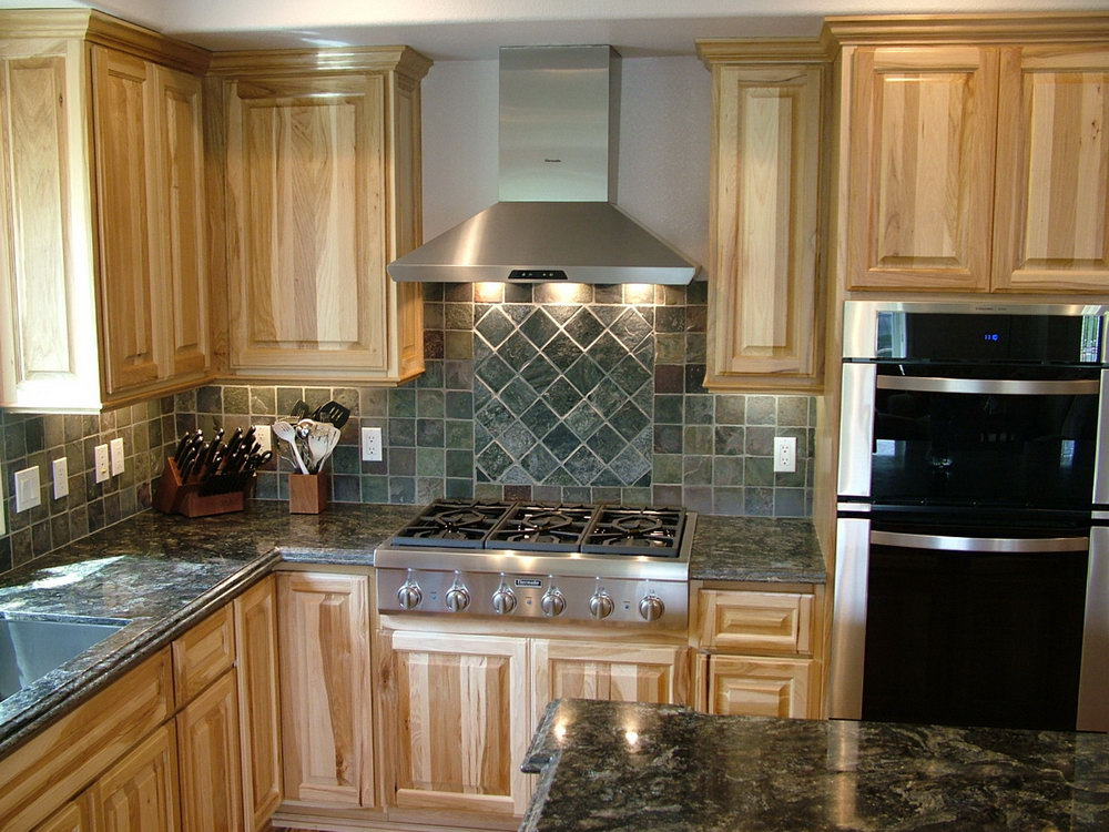 Hickory Kitchen Cabinets Images