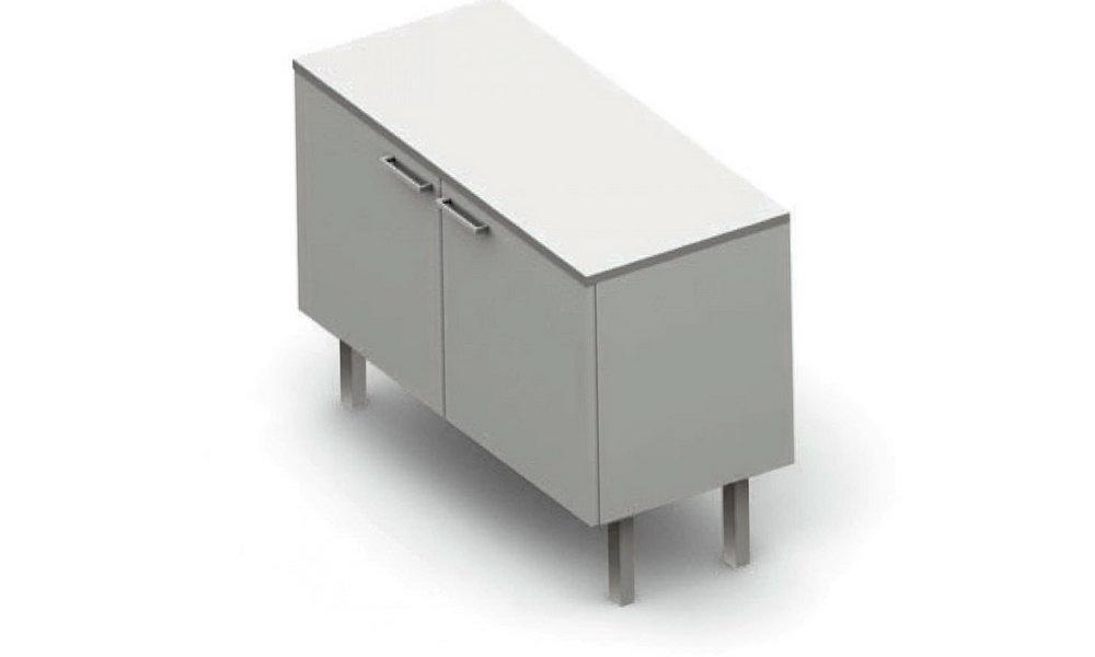 Horizontal Storage Cabinet With Doors