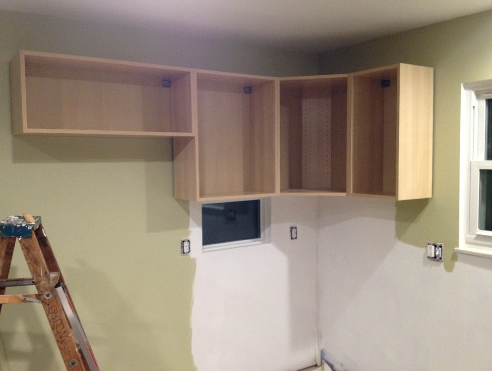 How To Build Upper Kitchen Cabinets