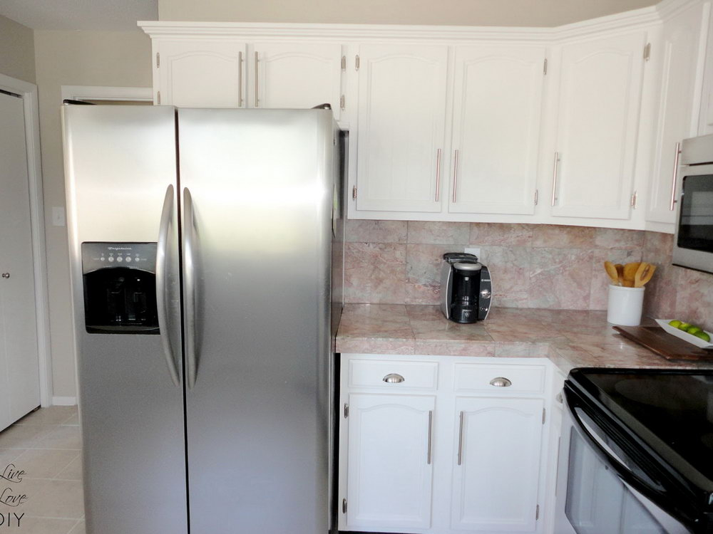 How To Paint Kitchen Cabinets White Video
