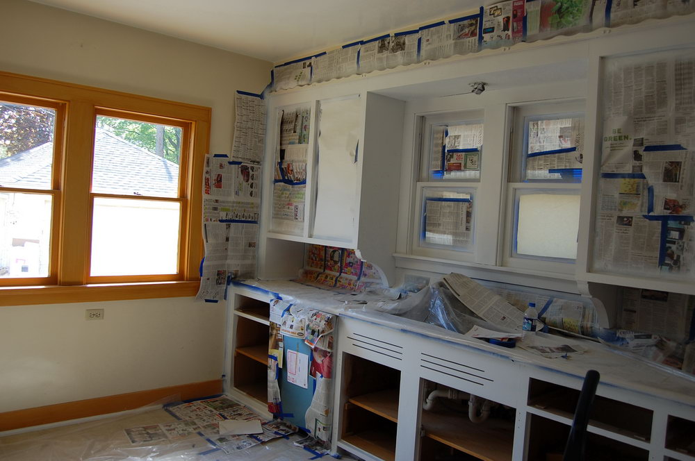 How To Paint Kitchen Cabinets White With A Sprayer