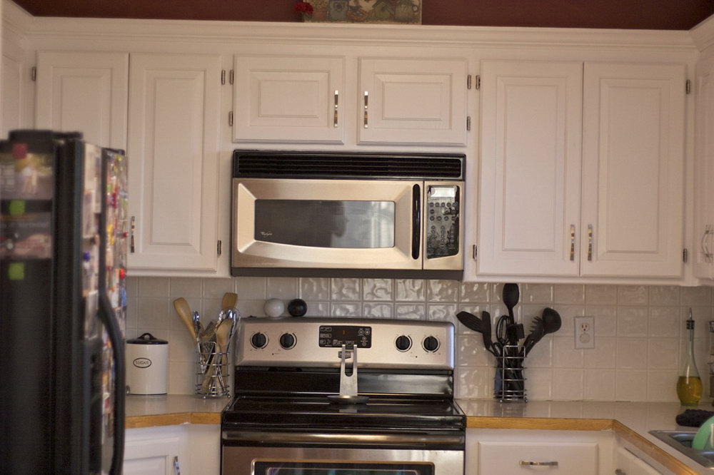 How To Paint Kitchen Cabinets White Youtube