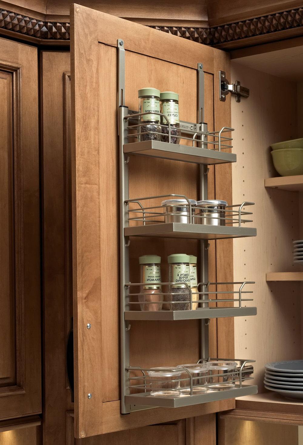 Inside Cabinet Door Storage