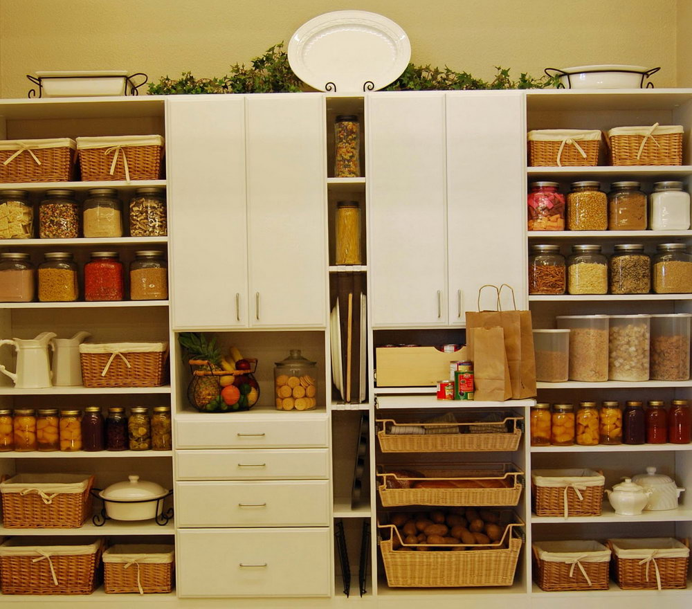 Kitchen Cabinets Storage Racks
